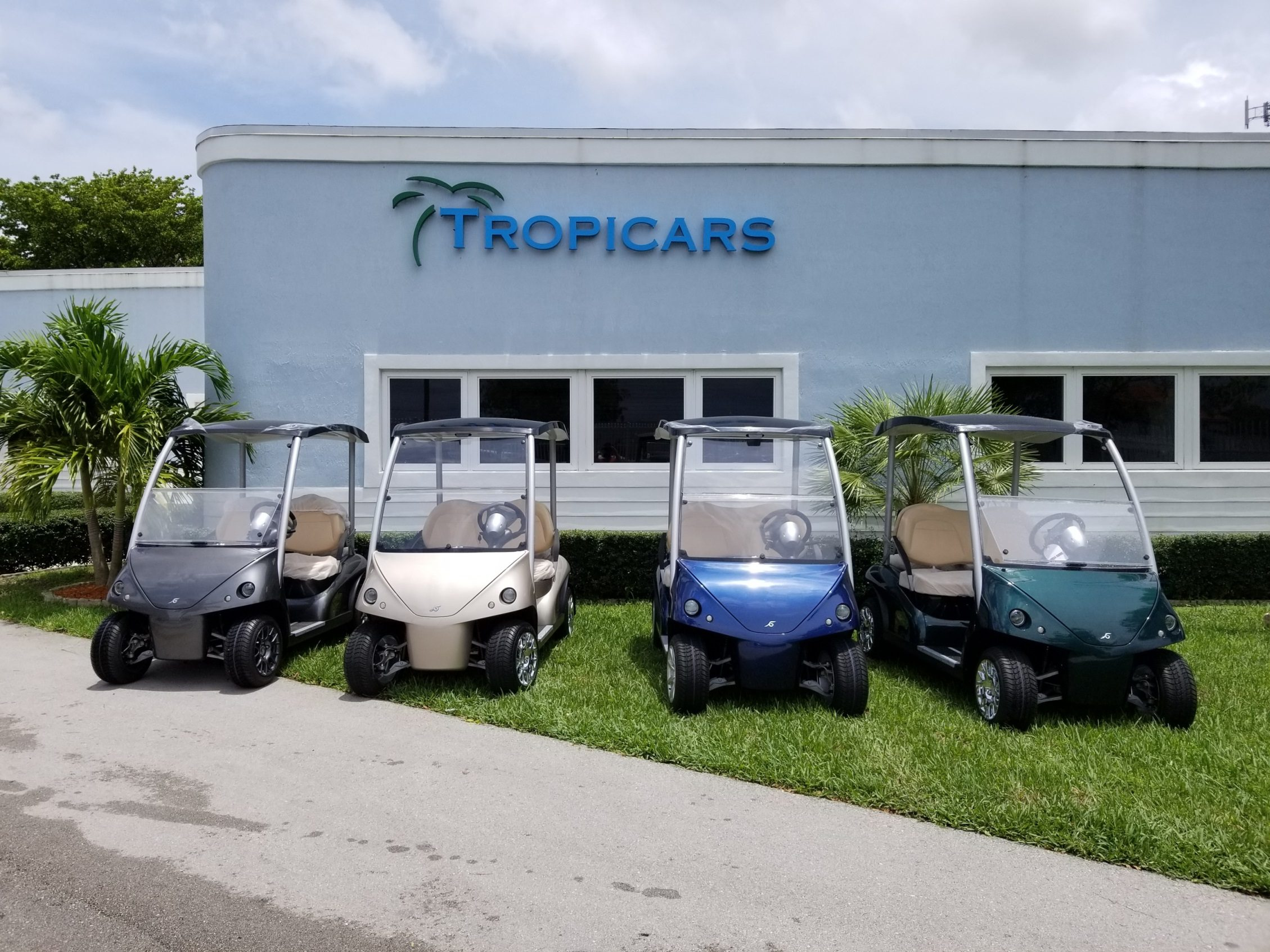 Garia 2+2 Golf Cars for Sale