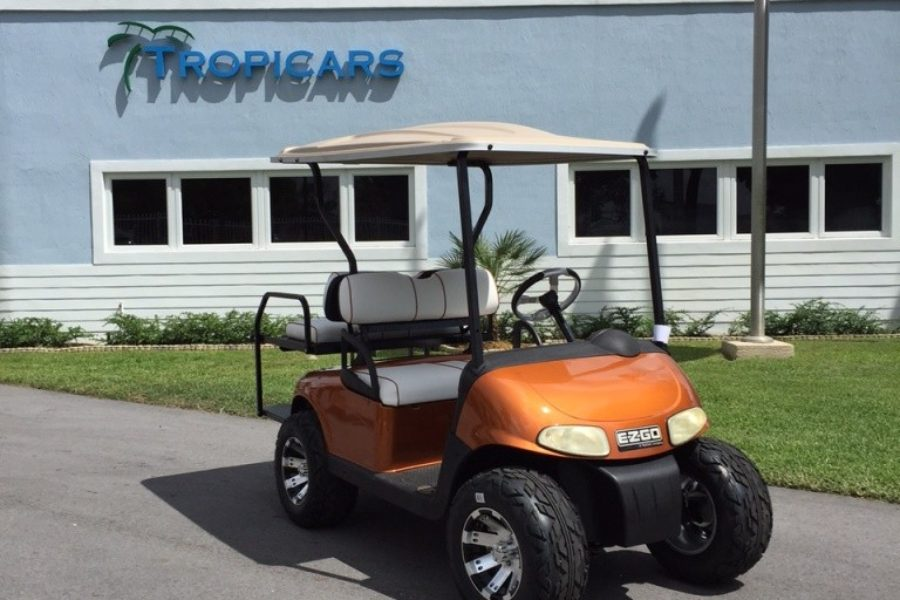 Tropicars Custom Built E-Z-GO Freedom RXV