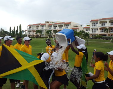Tropicars sponsors the Jamaican Junior National Team