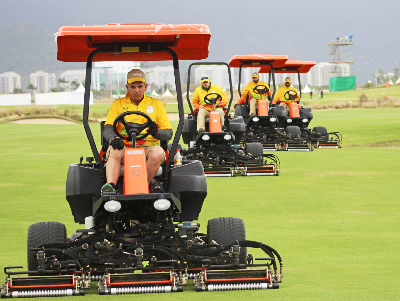 Jacobsen Equipment Prepares Rio Golf Course as Justin Rose Wins Gold Medal