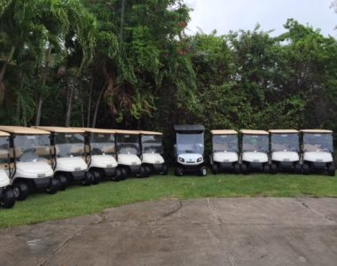 Four Seasons Nevis Expands their Golf Car Fleet by Choosing E-Z-GO & Cushman