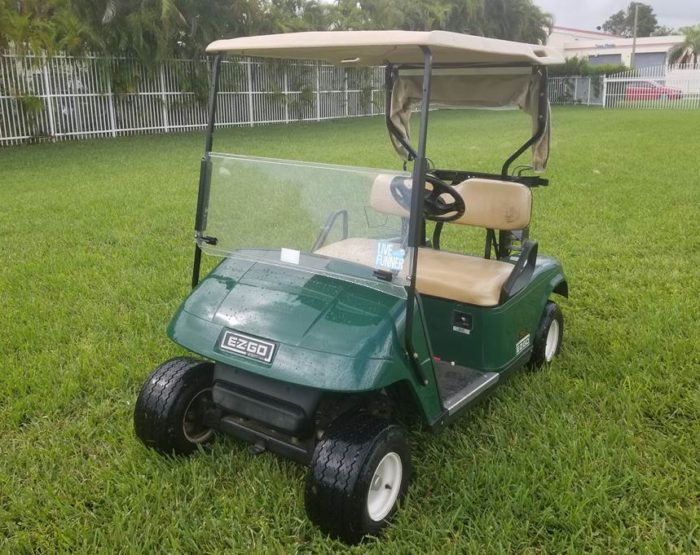 Pre-Owned EZGO TXT 2 Seater