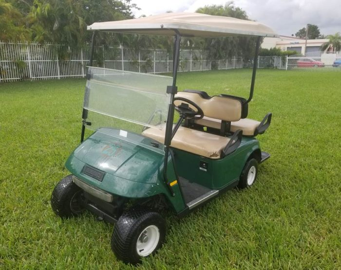 Pre-Owned EZGO TXT 4 Seater